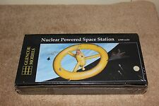 Glencoe 6909 Nuclear Powered Space Station kit.  1/300th scale.