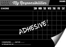 Chalkboard *Adhesive Decal* Chore Chart NEW!