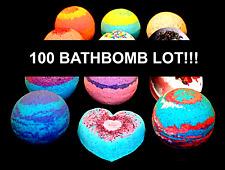 100 pack Bath Bomb Lot Fizzy Fizzies Lush Luxurious Organic 4.5 oz