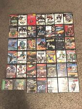 Lot of 40 Used PS2 Games Playstation 2 Games