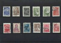 RUSSIA  MOUNTED MINT OR USED STAMPS ON  STOCK CARD  REF R1000