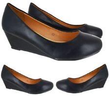 Calzado de mujer plataformas sin marca color principal negro