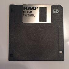 KAO MF2ED 2.88MB/4MB 3.5 pouces extra densité floppy disc bsd0a
