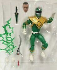 Complete Hasbro Power Rangers Lightning Collection 6 Inch Green Ranger Tommy