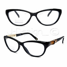 41df3d7c04 GUCCI GG 3700 4UA Cat Eye 53 14 130 Black Eyeglasses Rx Made in