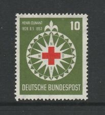 W Germany 1953 Henri Dunant Red Cross SG 1090 MLH