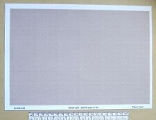 """OO/HO gauge (1:76 scale) """"pebble dash"""" -  paper - A4 sheet"""