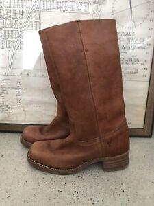 Women's Frye Campus Boots Sz 10 Style 77050-8