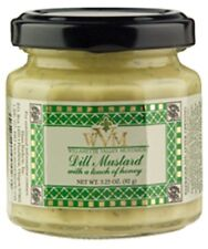 (Case of 12) Willamette Valley Dill Mustard, 3.25oz