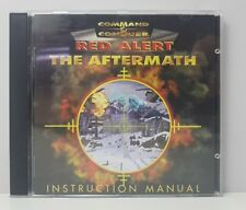 Command & Conquer - Red Alert The Aftermath Add-On Game PC FREE TRACKED POSTAGE