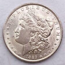 1889 MORGAN SILVER DOLLAR 90% SILVER $1 COIN US #L110