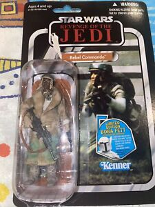 Rebel Commando Figure VC26 Star Wars Vintage Collection 2011 Hasbro New on Card