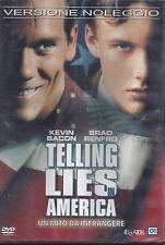 Dvd **TELLING LIES IN AMERICA** con Kevin Bacon nuovo sigillato 2002