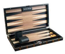 Range - DAL Rossi 46cm Timber Inlaid Case Deluxe Backgammon Board Game