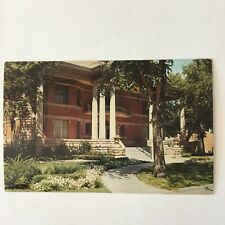 Amarillo Texas Mary E. Bivins Memorial Library Unposted Vintage Postcard