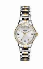Bulova Women's 98R166 Diamond Markers Quartz Two-Tone Bracelet Watch
