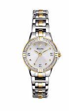 Bulova Women's 98R166 Diamond Markers Quartz Two-Tone Bracelet Watch