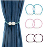 Magnetic Ball Curtain Tiebacks Tie Backs Buckle Clips Holdback Blind Accessories