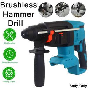 For Makita DHR242Z 18V Li Cordless Brushless SDS+ Rotary Hammer Drill Body Only