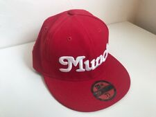 Winfield Munch New Era Fitted Red 7 5/8 Used Japan