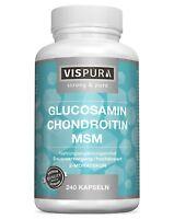 (€ 8,61 /100g) Glucosamin + Chondroitin + MSM 240 Kapseln 2 Monatskur