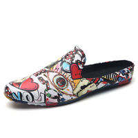 Men's Casual Driving Loafers Walking Shoes Slip On Flat Boat Shoes Comfortable