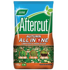 More details for westland aftercut all in one autumn lawn feed & moss killer 400m2 14kg