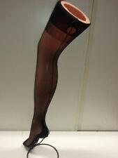 Bas avec couture noir vintage (année 1960) T3 france  Nylon Mousse CHARME SEXY
