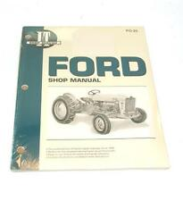 FORD 501 600 601 700 800 801 900 901 2000 4000  TRACTOR I&T SHOP MANUAL FO20