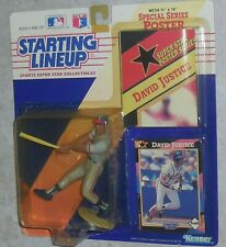 Starting Lineup DAVID JUSTICE Mosc New 1992 Braves Figure