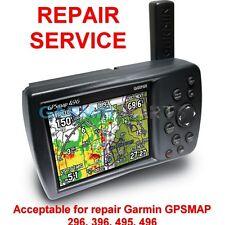 Repair Service for Garmin GPSmap 296 396 496 495 Color Chartplotter GPS Fix