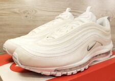 Nike Air Max 97 White Wolf Grey Fashion Sneakers 921826 101  Pick Men's Size