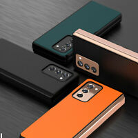 Phone Protective Case Leather Cover Shell for Samsung Galaxy Z Fold2 Phone BAU
