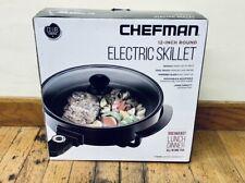 Chefman 12 Inch Round Electric Skillet
