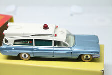 DINKY TOYS  * CADILLAC SUPERIOR AMBULANCE  * OVP & TOP