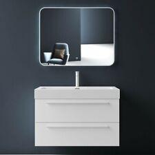 Badmöbel SetBadezimmermöbel Waschtisch Waschbecken Unterschrank LED Badspiegel