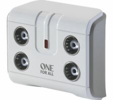 More details for one for all sv9604 4-way tv signal booster - currys