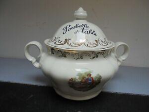 Poubelle de Table Porcelaine