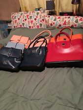 7 Dooney And Bourke Parasole Bags plus free DB vintage bag