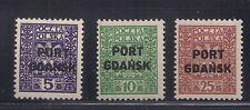 Poland  1929-30  Sc # 1K 20-22   MLH  OG   (50898)