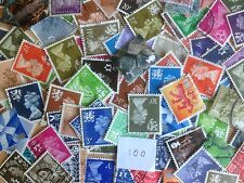 100 Different Great Britain Regionals Stamp Collection
