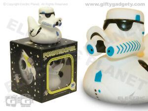 Pondtrooper Light-Up LED Colour-Changing Bath Duck, Bath Toy, Star Wars Themed G