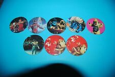 481 pogs pog caps milkcaps flippo : lot de 8 power rangers avimage