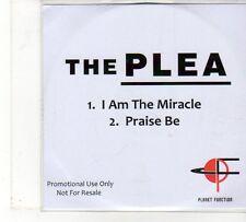 (FU841) The Plea, I Am The Miracle / Praise Be - DJ CD