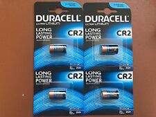 4 X Nouveau 3 V DURACELL CR2 Ultra Lithium Photo Batteries DLCR 2/ELCR 2