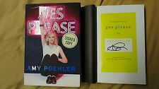 SIGNED Amy Poehler Yes Please Book Parks and Recreation SNL Second City Comedy