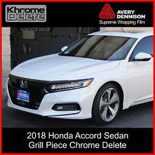 2018-2020 Honda Accord Sedan Grill Piece Chrome Delete