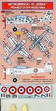 KORA Decals 1/72 MITSUBISHI Ki-51 SONIA France over Indochina