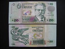 Uruguay 20 pesos uruguayos 2008 (p86a) UNC