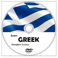 Learn to speak GREEK COMPLETE LANGUAGE COURSE CD MP3 AUDIO PDF TEXTBOOKS